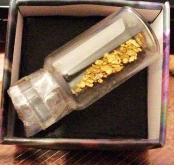 Oro nativo Rio Genil Granada laminas de 2mm (Autor: Nieves)