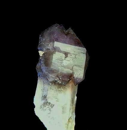 Amatista en cetro. Massabé, Sils, La Selva, Girona, Cataluña, España. Pieza; 7,2x3,1 cm (Autor: DAni)