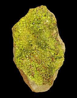 Pyromorphite, Huari-Huari Mine, Potosi Department, Bolivia.  5.5 x 3.5 x 2 cm (Author: Tracy)