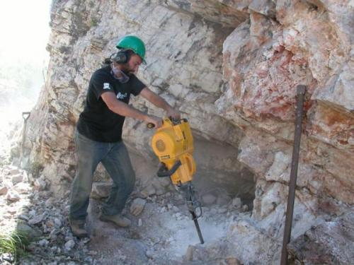 Trabajando el Catamarca Argentina,mi hijo 2009 (Autor: Ignacio Tepman)