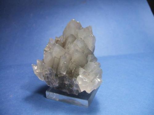 Calcita, mina Herculano, La Unión, Murcia, pieza 5x5cm., cristales 15mm. (Autor: Nieves)