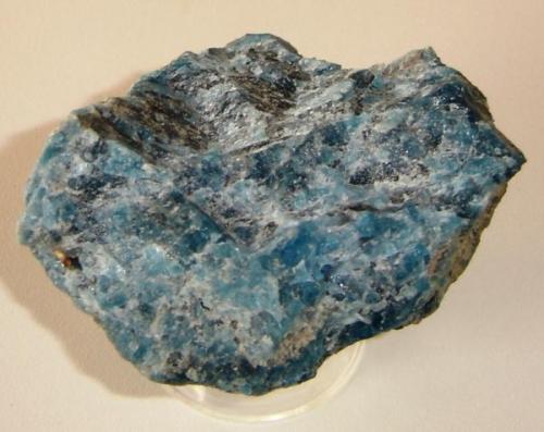 Apatita azul (11cm)- Bahia-Brasil (Autor: Anisio Claudio)