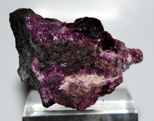 KÄMMERERITA  Kop Krom Mine, Kop Daglari, Turquía (4,5 x 3 cm - Cristal: 1 cm) (Autor: Marc C)