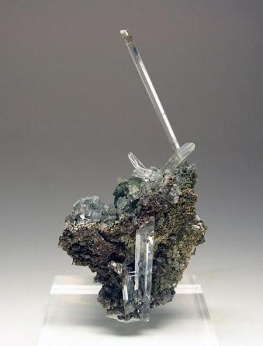 2701-Yeso, mina Balsa, La Unión, Murcia, 8,4x4,3x3 cm. (Autor: Edelmin)