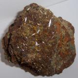 Wulfenita. 7 cm x 6.5 cm x 6.8 cm , Durango, México. (Autor: Luis Domínguez)