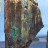 calcostibita cristal de 3x1´5cm mina el vagon lanteira Granada.jpg (Autor: Nieves)