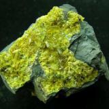 Sturmanita N'Chwaning Mine, Kuruman, Kalahari Manganese Fields, Cabo Norte, Sudafrica 70x50 mm (Autor: trencapedres)