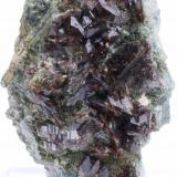Axinita -  Cantera Juanona - Antequera - Málaga - Andalucía - España -  5,6 x 4,0 x 3,7 cm (Autor: Martí Rafel)