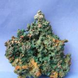 Cobre y Cuprita Oumjrane mine, Alnif, er Rachidia, Marruecos 18x18 cm (Autor: Nieves)