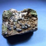 Magnetita pieza de 8x8cm cristales de 6mm, minas de Cala Huelva.jpg (Autor: Nieves)
