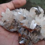 Hemimorfita, mina Ojuela, Mapimí, Durango, México (Autor: javmex2)