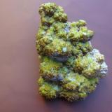 Crisocola, San Antonio, Chihuahua, México, tamaño de la pieza 10x6x5 cm. (Autor: javmex2)