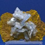 Barita Azul - Mina Teresita - Cartagena - Murcia Tamaño 8x5 cm. (Autor: El Coleccionista)