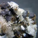 Galena cuarzo mina Los Arenales Mijas Málaga, pieza 5x4cm cristales 4mm (Autor: Nieves)