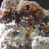 Blenda cuarzo mina Los Arenales Mijas Málaga, pieza 4x4cm cristal de blenda de 3mm (Autor: Nieves)