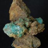 Óxido de cobre? - Minas del Remei - El Vilar de la Castanya - Montseny - Barcelona - España - 7x5x4 cm (Autor: Joan Martinez Bruguera)