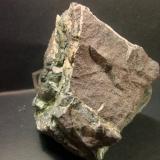 Filón cromo niquel mina Gallega Ojén Málaga, pieza 15x17cm (Autor: Nieves)