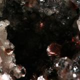 Goethita. Minas de Cala, Cala, Huelva, Andalucía, España Cristales de 4 mm. Regalo de Carlos Utrera. (Autor: Inma)
