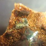 Calcostibita minas de Lanteira Lanteira Granada, pieza 5x5cm cristal 8mm (Autor: Nieves)