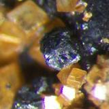 Detalle cristal de Metacinabrio. Col. y foto Nacho Gaspar. (Autor: Nacho)