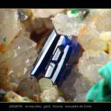azurita, encuadre de 3 mm (Autor: josminer)