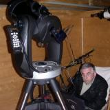 Observatorio de Ager (De noche, claro) (Autor: Pep Gorgas)