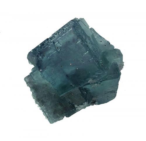Fluorita<br />Mina La Viesca, Zona minera de La Collada, Huergo, Siero, Comarca Oviedo, Asturias, Principado de Asturias, España<br />12x11x6,5 cm.<br /> (Autor: Nacho)