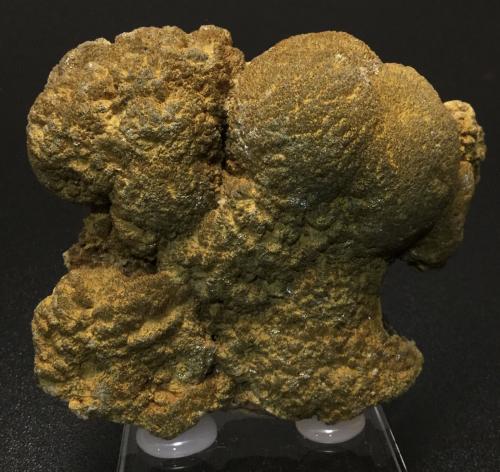 Barita (variedad oakstone)<br />La Cabaña, Zona minera de Berbes, Valdelmar, Berbes, Ribadesella, Comarca Oriente, Asturias, Principado de Asturias, España<br />8 x 8 x 3 cm<br /> (Autor: Nacho Garcia Alonso)