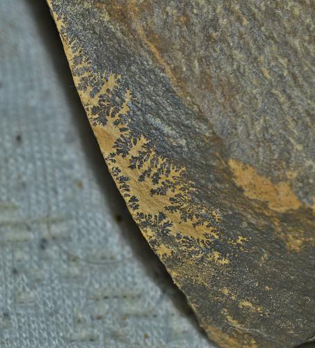 óxidos de manganeso<br />Albacete, Castilla-La Mancha, España<br />2,5 cm x 2 cm<br /> (Autor: DPC)