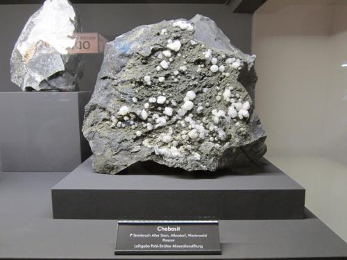 Chabazite (Series)<br />Alter Stein Quarry, Allendorf, Greifenstein, Lahn-Dill-Kreis, Gießen, Hesse/Hessen, Germany<br />Specimen size 20 cm<br /> (Author: Tobi)