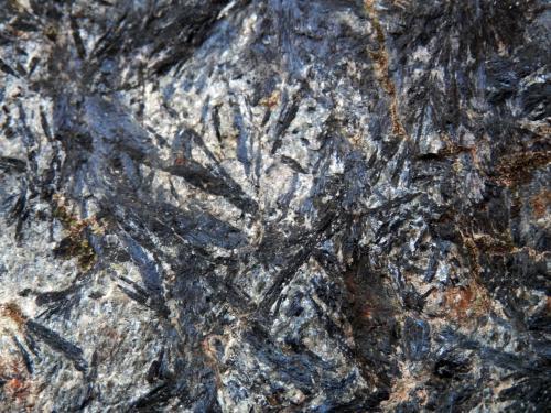 Anfibolita<br />Fuente del Caño, Polán, Comarca Montes de Toledo, Toledo, Castilla-La Mancha, España<br />12 X 7 cm (detalle)<br /> (Autor: Jesús López)