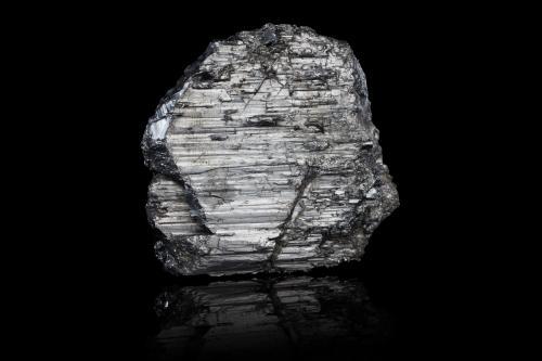 Andorite and Zinkenite<br />Mina San José, Ciudad de Oruro, Provincia Cercado, Departamento Oruro, Bolivia<br />8,0x2,0x7,0cm<br /> (Author: MIM Museum)