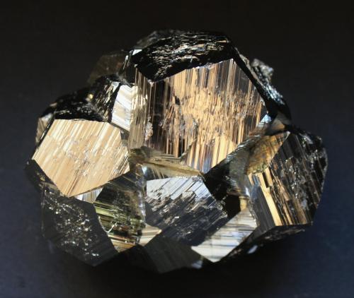 Pyrite<br />Huanzala Mine, Huallanca District, Dos de Mayo Province, Huánuco Department, Peru<br />80mm X 65mm x 60mm<br /> (Author: Philippe Durand)