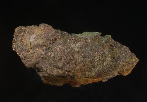 Cromita<br />Mina Baeza, Ojén, Comarca Costa del Sol Occidental, Málaga, Andalucía, España<br />6 x 3cm<br /> (Autor: Ricardo Fimia)