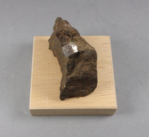 Cobaltita<br />Grupo minero Håkansboda, Lindesberg, Örebro, Västmanland, Suecia<br />4,5 x 4,5 cm<br /> (Autor: J. G. Alcolea)
