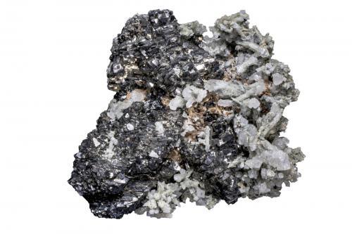 2.Selecciono el mineral con la Herramienta de Selección rápida y borro el fondo existente (Autor: Manuel Mesa)