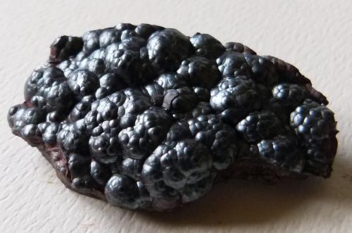Hematite<br />Kelton Fell Mine, Kirkland, West Cumberland Iron Field, former Cumberland, Cumbria, England / United Kingdom<br />6cm<br /> (Author: colin robinson)