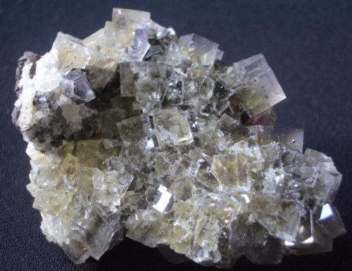 Fluorite<br />Skears Mine, Middleton-in-Teesdale, Teesdale, North Pennines Orefield, County Durham, England / United Kingdom<br />8cm<br /> (Author: colin robinson)