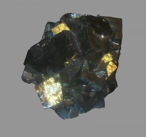 Fluorite<br />Charles Pfizer & Company Inc. Quarry, Gibsonburg, Sandusky County, Ohio, USA<br />18 cm x 12 cm x 7.5 cm<br /> (Author: Jamison Brizendine)