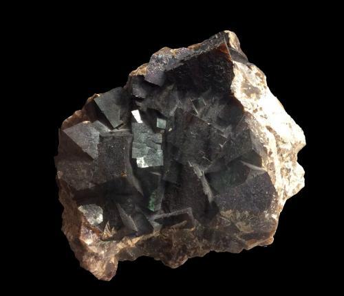 Fluorite<br />Charles Pfizer & Company Inc. Quarry, Gibsonburg, Sandusky County, Ohio, USA<br />20 cm x 16 cm x 15 cm<br /> (Author: Jamison Brizendine)