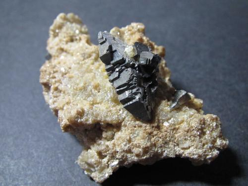 Arsenopirita<br />Mina Yaogangxian, Yizhang, Prefectura Chenzhou, Provincia Hunan, China<br />5''5 x 3''5 cm.<br /> (Autor: prcantos)