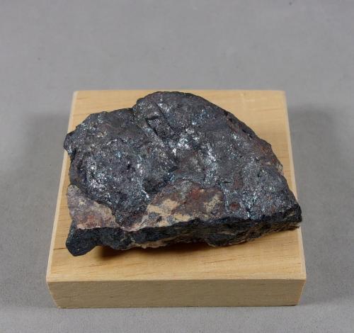 Stromeyerita<br />Pozo Alexander, Vrančice, Příbram, Región Bohemia Central, Bohemia, República Checa<br />5 x 3,5 x 2 cm.<br /> (Autor: J. G. Alcolea)