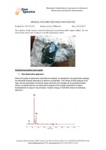 Analytical results (Author: Cesar M. Salvan)