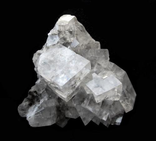 Calcite<br />Tsumeb Mine, Tsumeb, Otjikoto Region, Namibia<br />Specimen size 5,5 cm, largest crystal 2 cm<br /> (Author: Tobi)