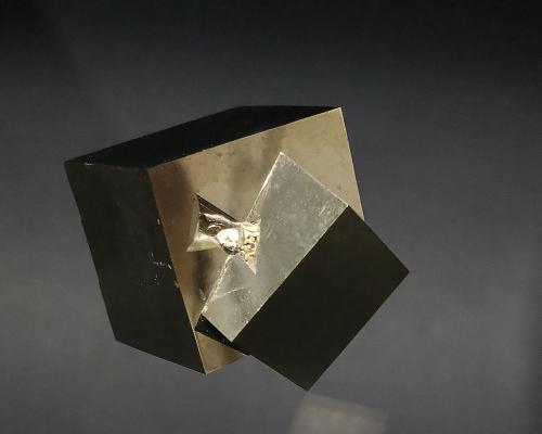 Pyrite<br />Ampliación a Victoria Mine, Navajún, Comarca Cervera, La Rioja, Spain<br />3 x 3 cm<br /> (Author: Richard Arseneau)