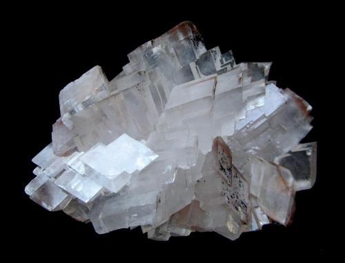Calcite<br />Tsumeb Mine, Tsumeb, Otjikoto Region, Namibia<br />Specimen size 11 cm, largest crystal 2,5 cm<br /> (Author: Tobi)