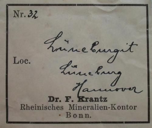 ...with old Krantz label... (Author: Andreas Gerstenberg)