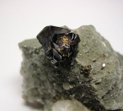 Casiterita, Ximeng Co., Yunnan, China, detalle (Autor: Edelmin)