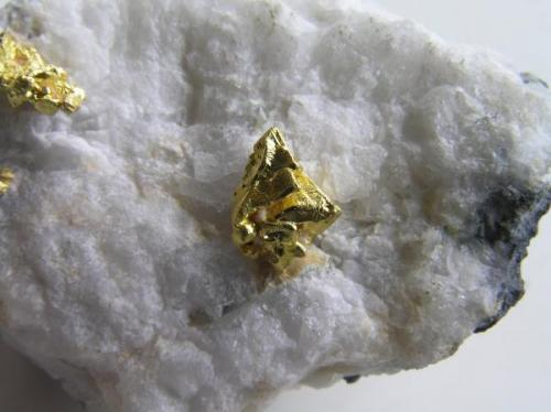 Detalle cristal octaédrico 1 cm. Col. y foto Nacho Gaspar. (Autor: Nacho)