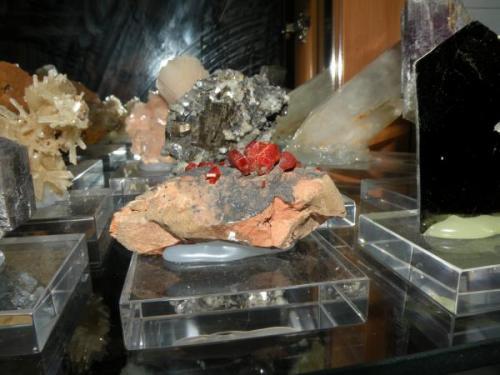 vanadinita. Mibladen, marruecos, 7 cm (Autor: nimfiara)